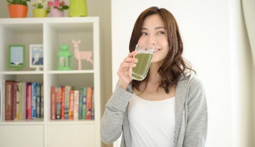 より効果的な青汁の飲み方について